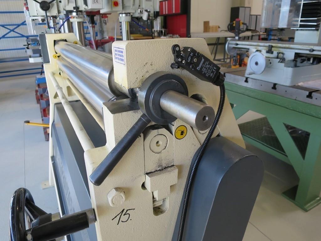 3-вальц. листогибочная машина OSTAS SBM 1270 x 95 фото на Industry-Pilot
