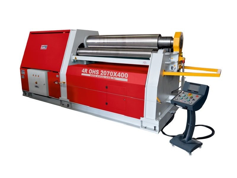 4-вальц. листогибочная машина OSTAS 4R OHS 1570 x 3/6 фото на Industry-Pilot