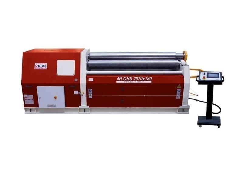 4-вальц. листогибочная машина OSTAS 4R OHS 2070 x 6/10 фото на Industry-Pilot