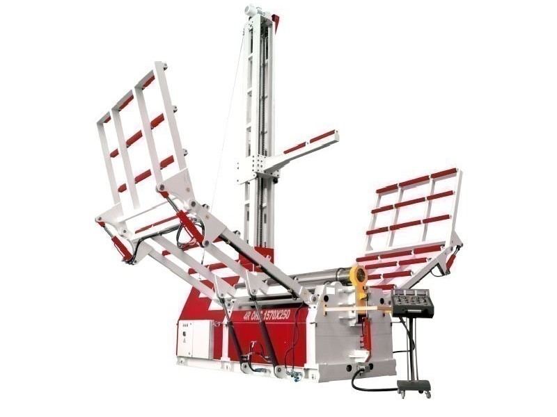 4-вальц. листогибочная машина OSTAS 4R OHS 2570 x 8/10 фото на Industry-Pilot
