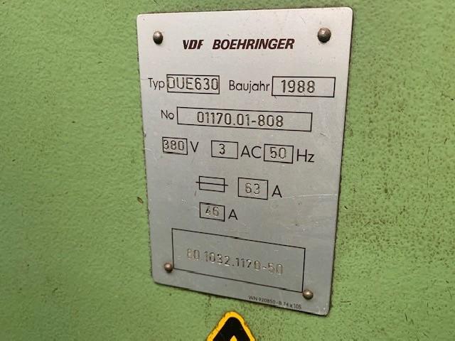 Токарно-винторезный станок BOEHRINGER DUE630 фото на Industry-Pilot