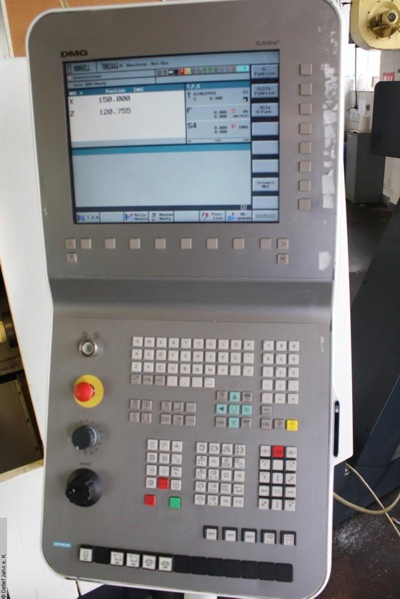 Токарный станок с ЧПУ DM CTX 310 eco фото на Industry-Pilot