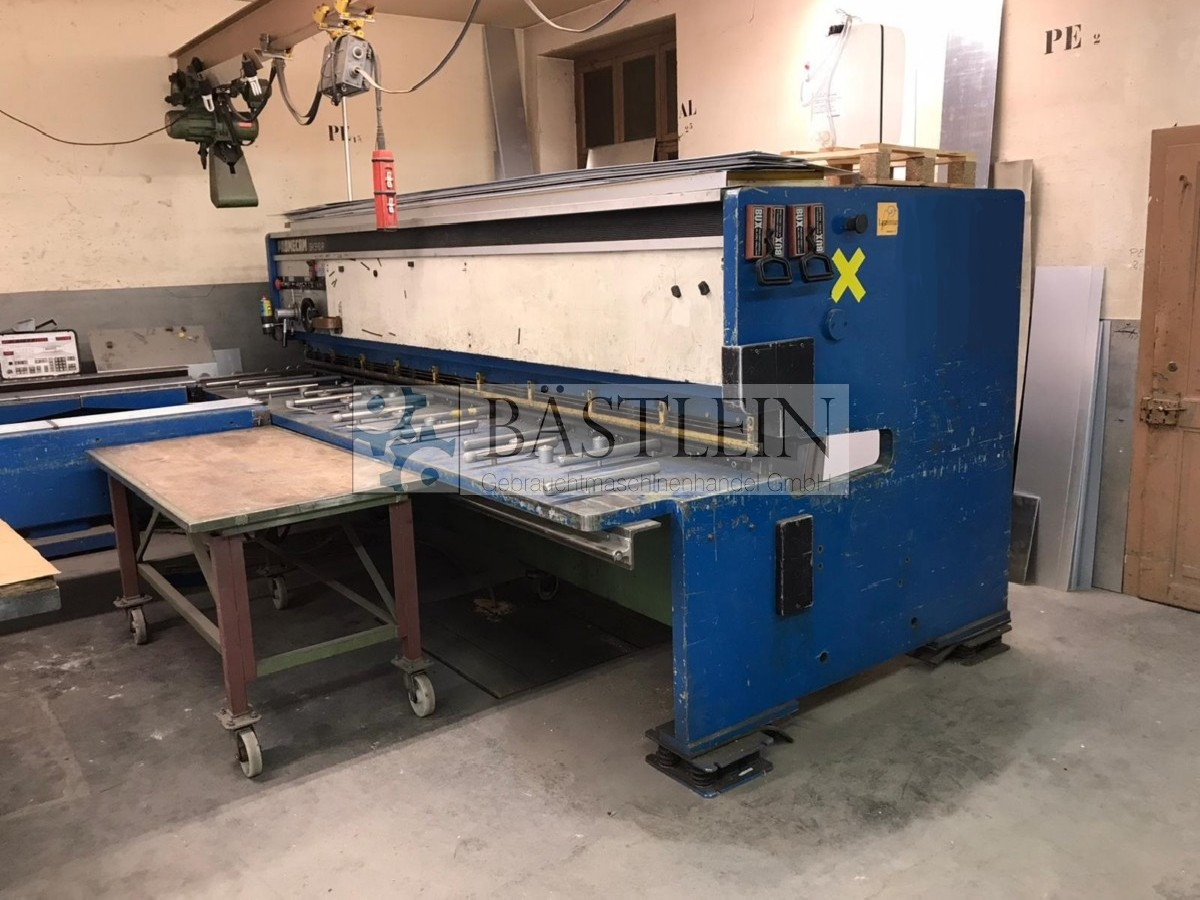 Hydraulic guillotine shear  PROMECAM GH 540 A photo on Industry-Pilot