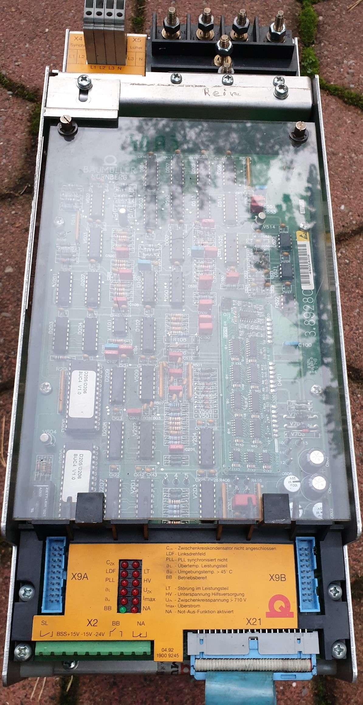 Power unit Baumüller E-R-Gerät BUC-4-80-6-100 photo on Industry-Pilot