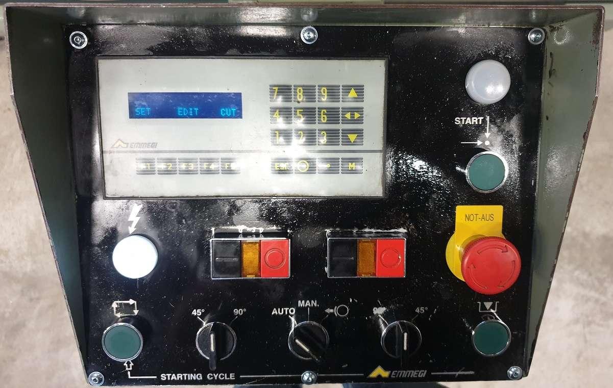 Усорезный станок с двумя пилами Emmegi Single 2 фото на Industry-Pilot