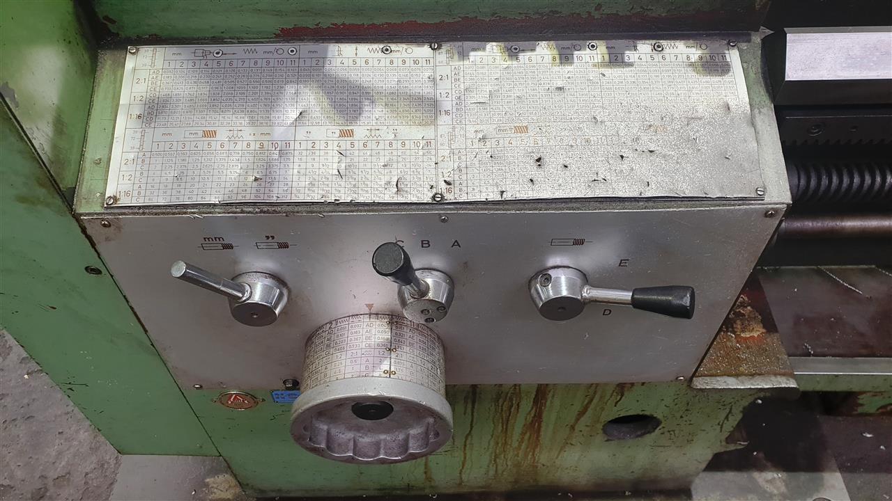 Screw-cutting lathe WEIPERT W 802 ROTAS photo on Industry-Pilot