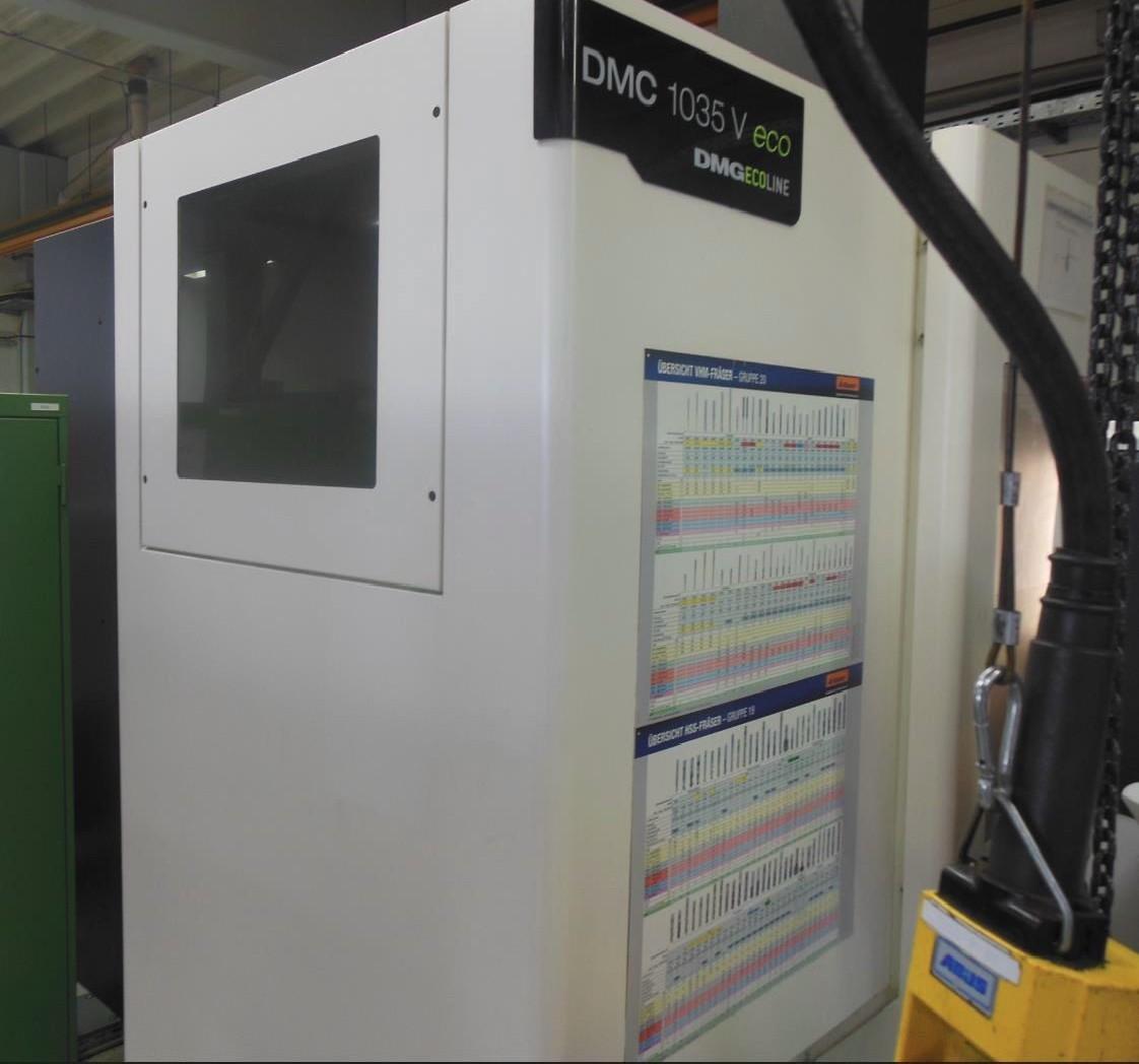 Обрабатывающий центр - универсальный DECKEL- MAHO DMC 1035 V ECO фото на Industry-Pilot