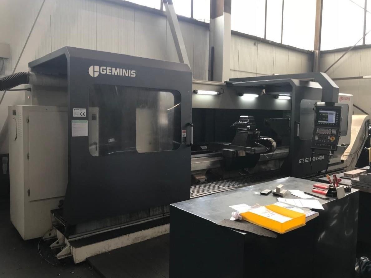 Токарный станок с ЧПУ GEMINIS GT5 G2 1100 x 4000 фото на Industry-Pilot