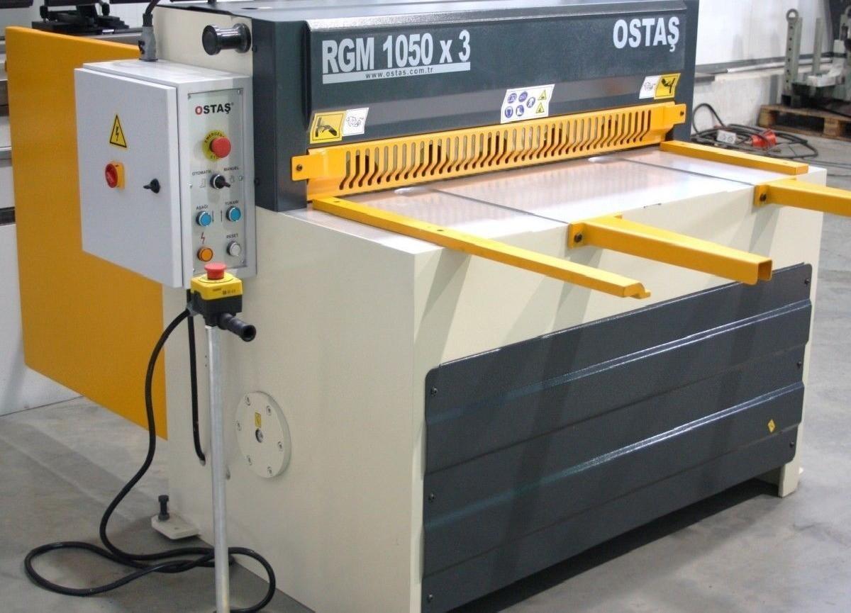 Гильотина механическая OSTAS ORGM 1050 x 3 фото на Industry-Pilot