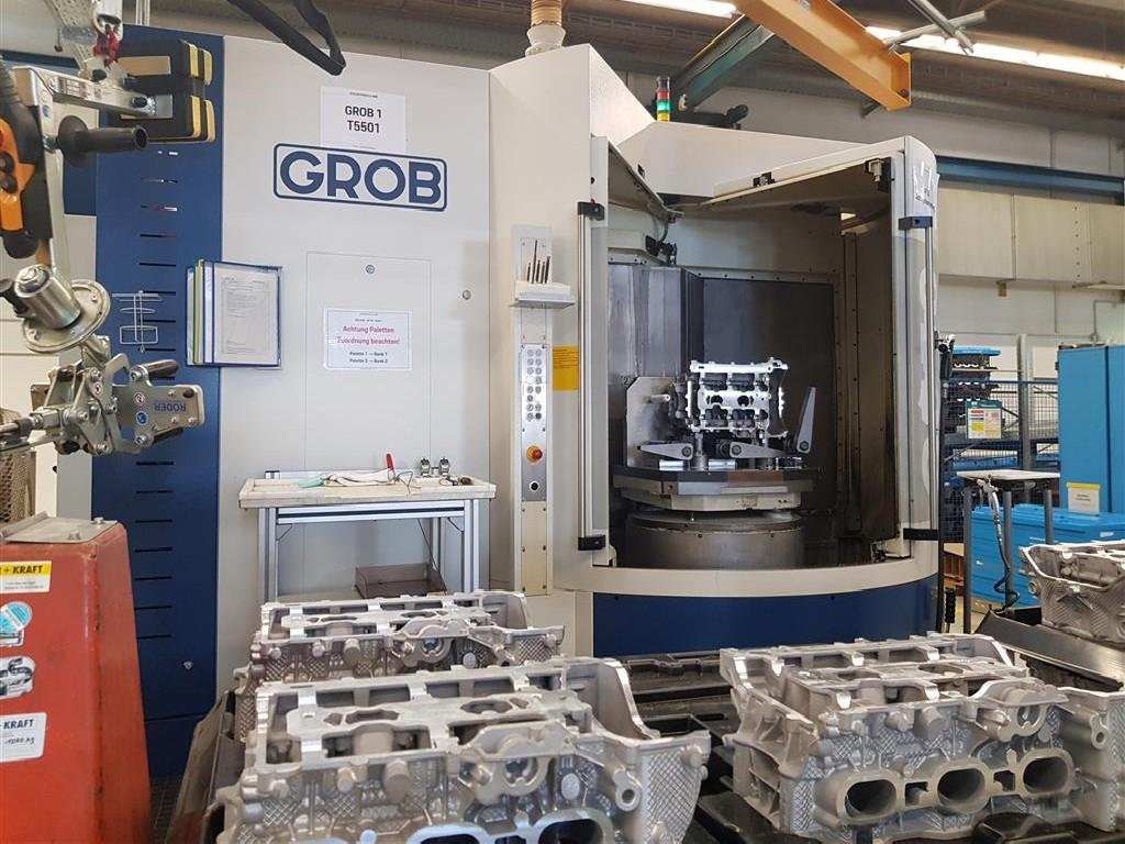 Обрабатывающий центр - универсальный GROB G550 2017 фото на Industry-Pilot