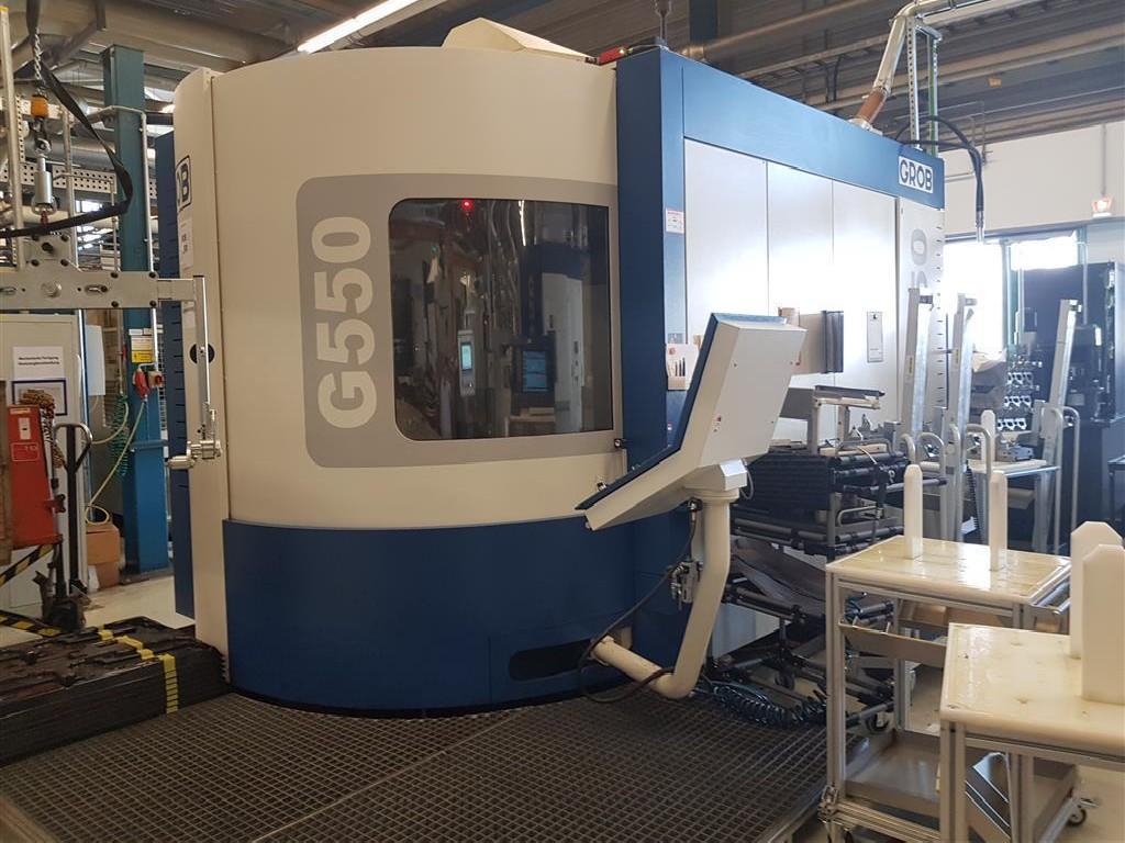 Обрабатывающий центр - универсальный GROB G550 Siemens фото на Industry-Pilot