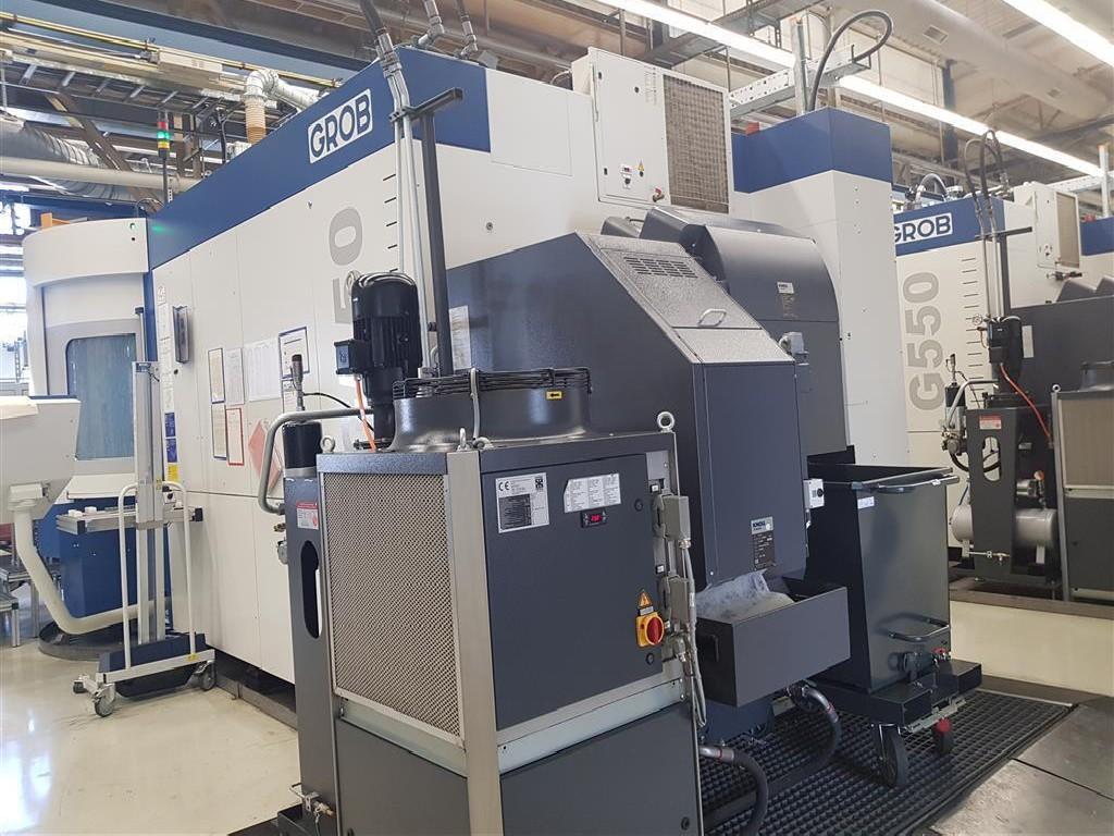 Обрабатывающий центр - универсальный GROB G550 800x1200x1200 фото на Industry-Pilot
