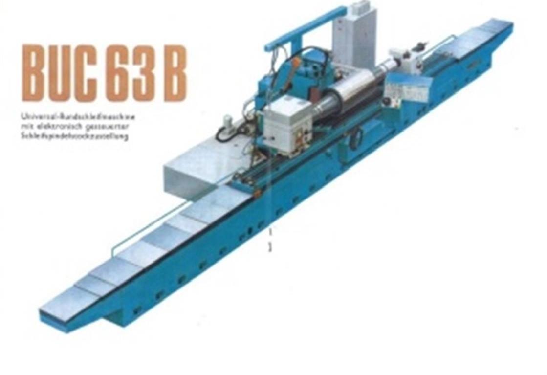 Круглошлифовальный станок для наружных поверхностей TOS BUC 63B x 3.000 фото на Industry-Pilot