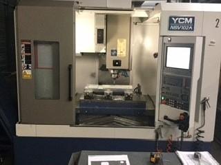 Обрабатывающий центр - вертикальный YCM SUPERMAX VMC -85 A / FANUC 0M фото на Industry-Pilot