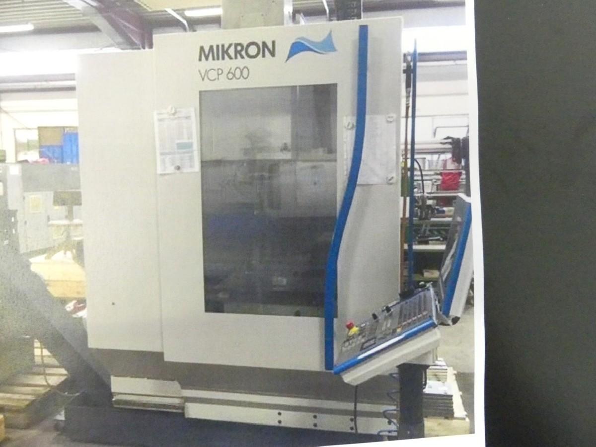 Обрабатывающий центр - вертикальный MIKRON VCP 600 CNC фото на Industry-Pilot