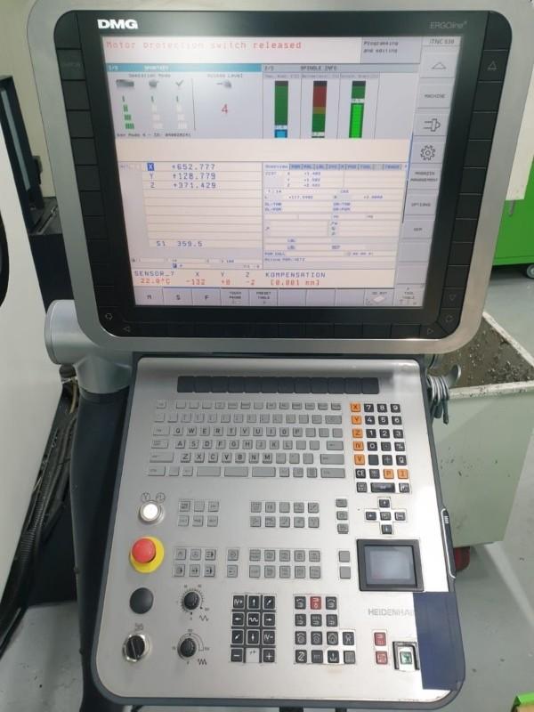 Обрабатывающий центр - вертикальный DMG MORI SEIKI HSC 75 linear 2011 фото на Industry-Pilot