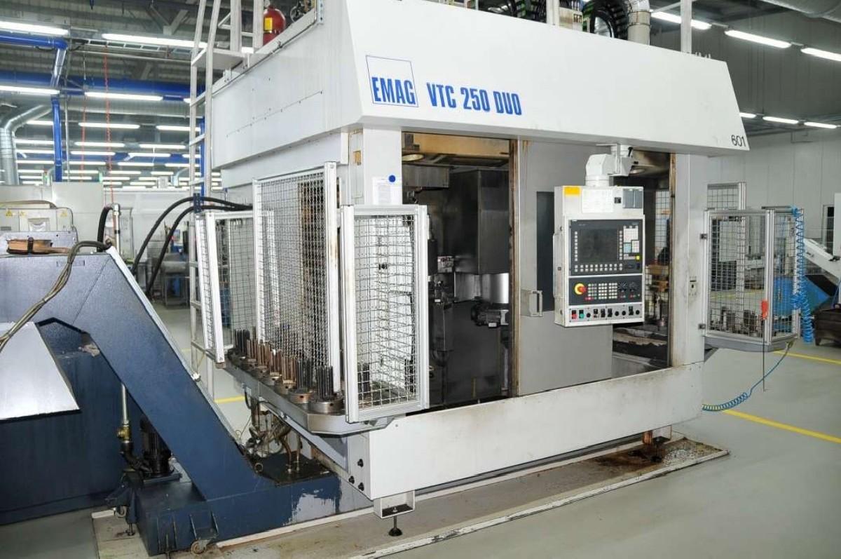 Вертикальный токарный станок EMAG VTC 250 DUO ED HSK und VDI 40 фото на Industry-Pilot