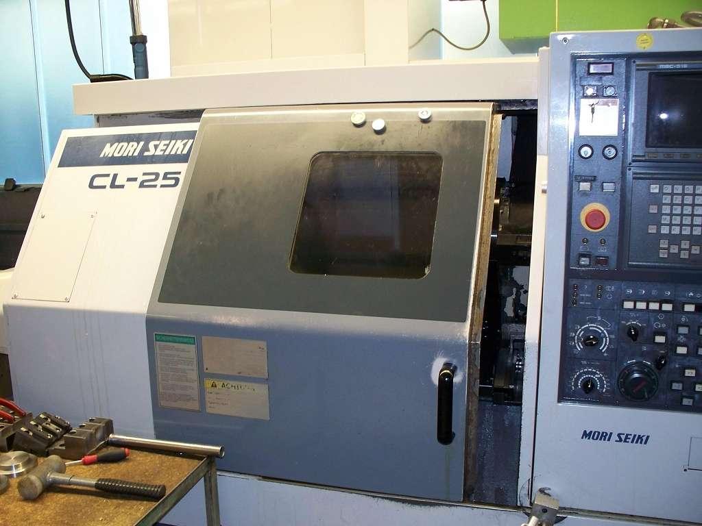 Токарный станок с наклонной станиной с ЧПУ Mori Seiki CL-25 фото на Industry-Pilot