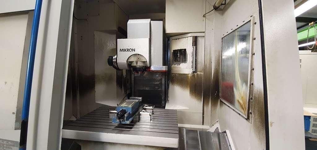 Обрабатывающий центр - универсальный Mikron UCP 1000 фото на Industry-Pilot