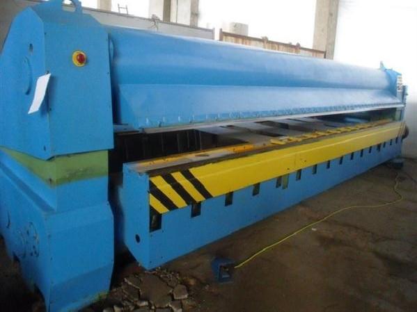 Листогиб с поворотной балкой GRIEBEL SBS 6000 x 1,5 фото на Industry-Pilot