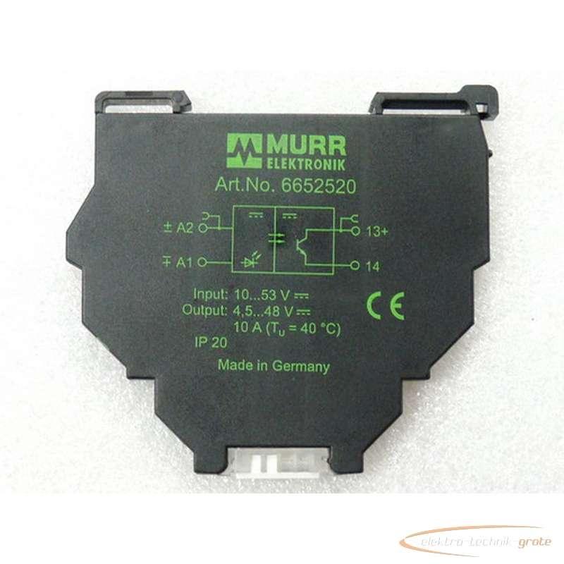 Murrelektronik Murrelektronik murrelektronik Art Nr 6652520 Optokopplermpodul mit LED Anzeige 10A - ungebraucht -