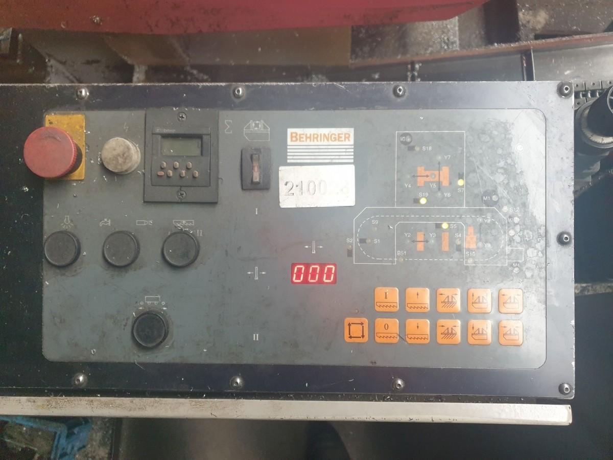 Ленточнопильный станок по металлу - Автом. BEHRINGER HBP 263A фото на Industry-Pilot