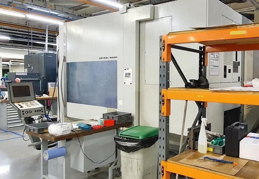 Обрабатывающий центр - универсальный DECKEL MAHO DMC 125 U hi-dyn фото на Industry-Pilot