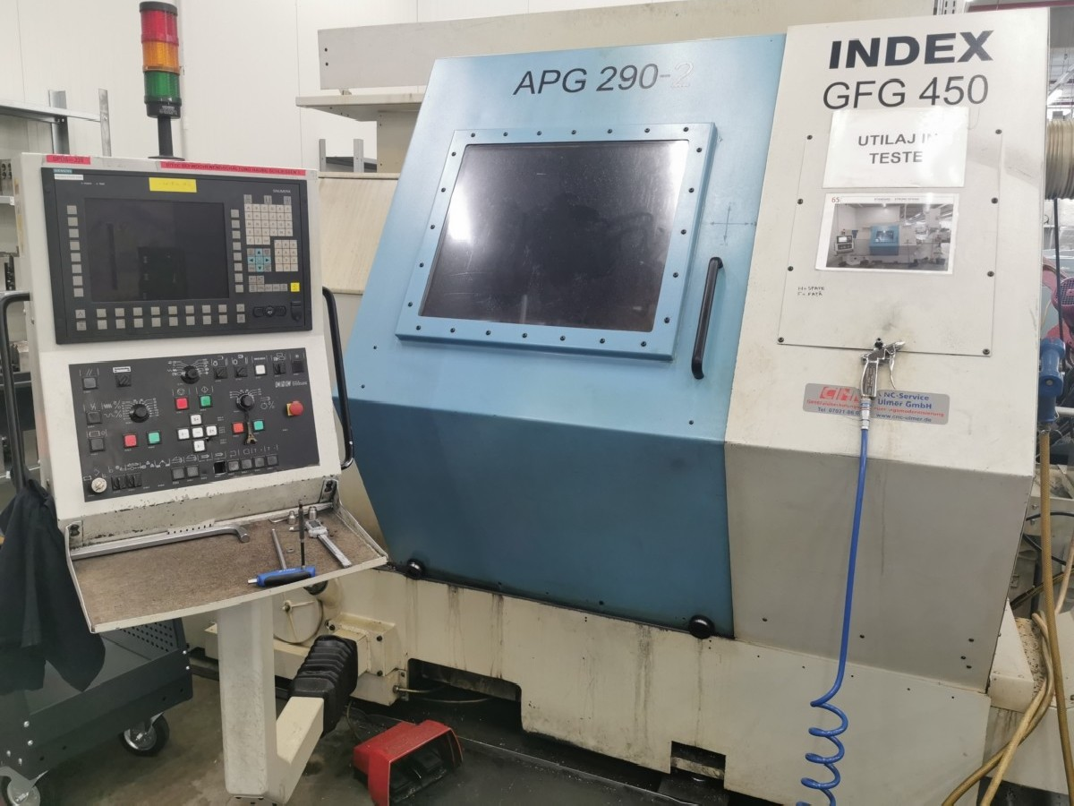 Токарный станок с ЧПУ INDEX GFG 450 CNC фото на Industry-Pilot