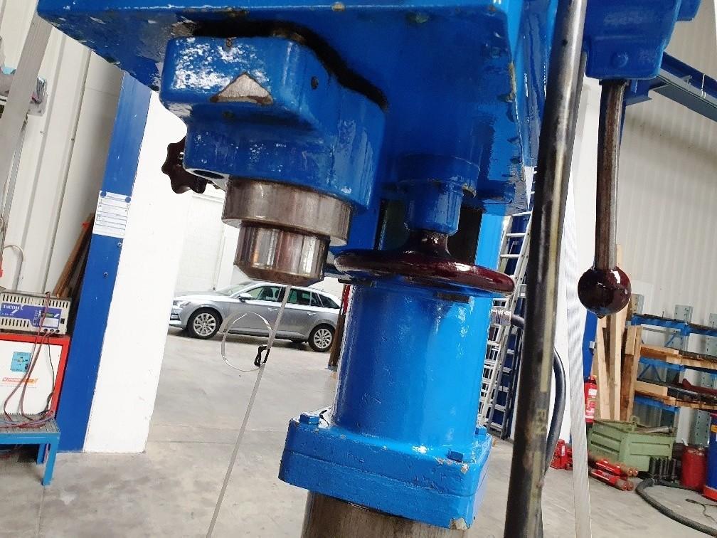 Вертикально-сверлильный станок со стойкой WMW BS 25 фото на Industry-Pilot