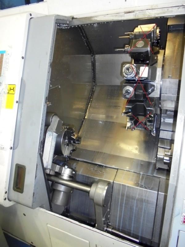 Токарный станок с наклонной станиной с ЧПУ MAZAK SQT-200 MSY фото на Industry-Pilot