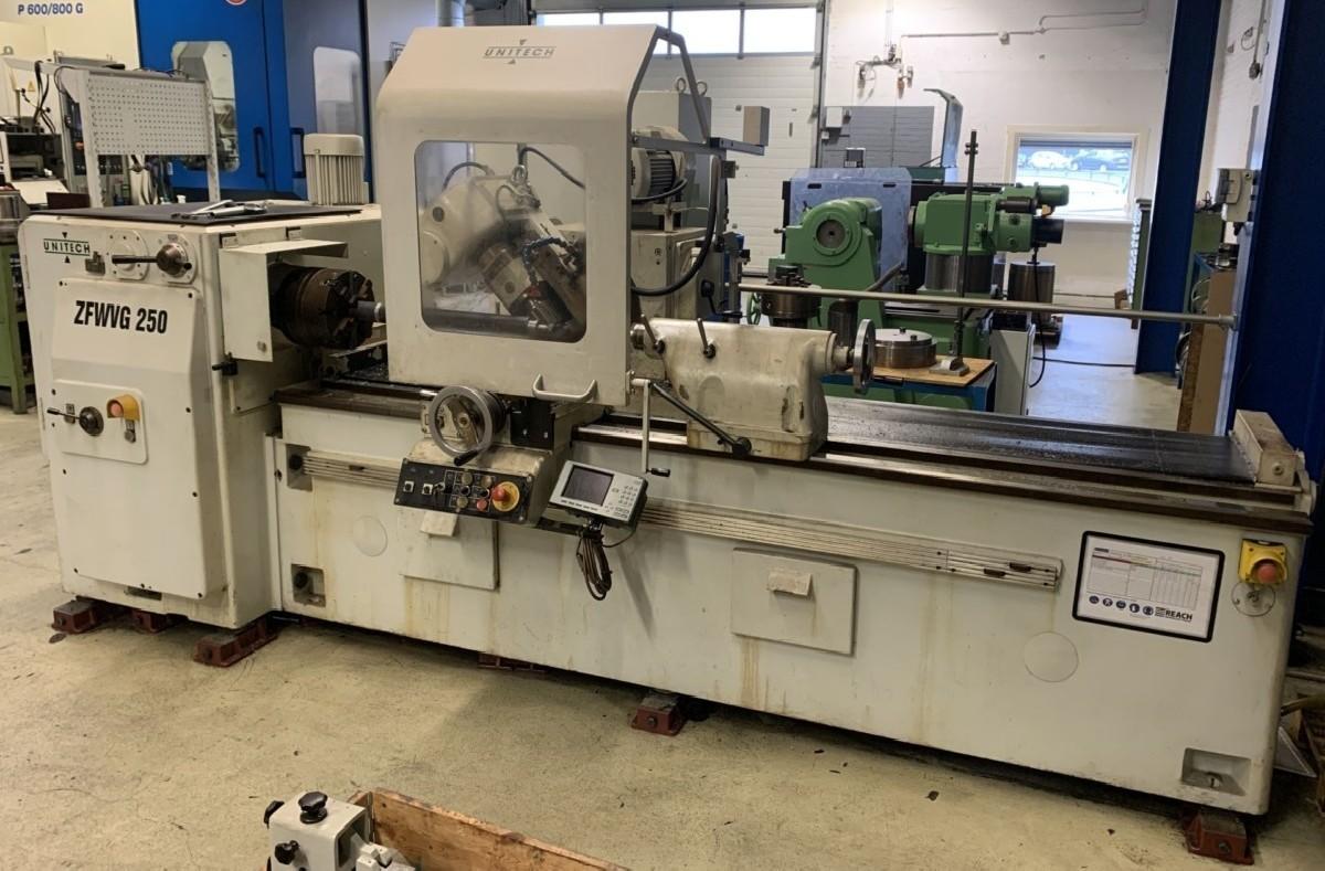 Резьбошлицефрезерный станок HECKERT-UNITECH ZFWVG 250 x 2000 фото на Industry-Pilot