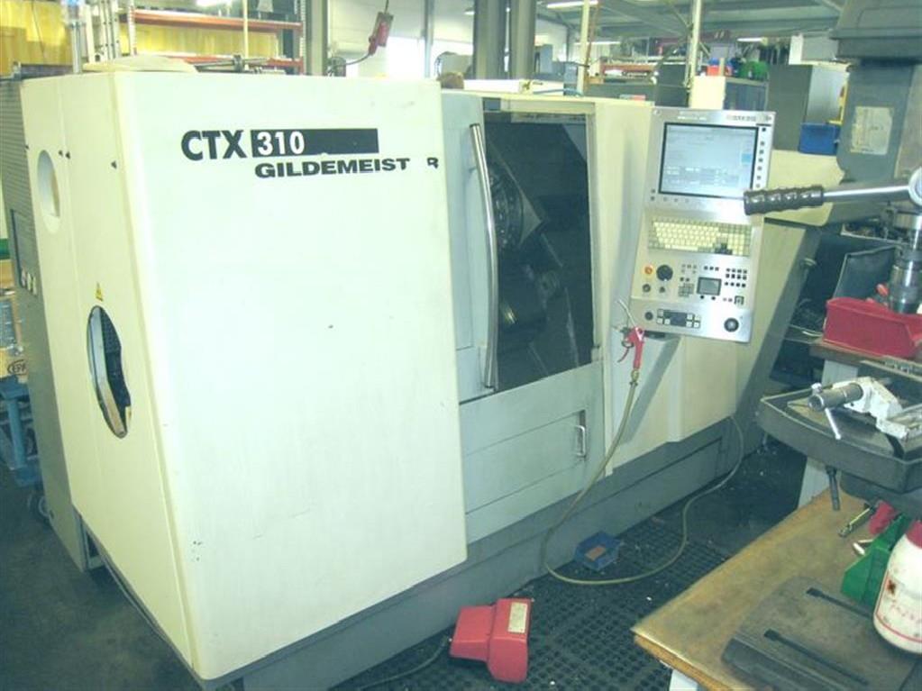 Токарный станок с ЧПУ GILDEMEISTER CTX 310 V 3 фото на Industry-Pilot
