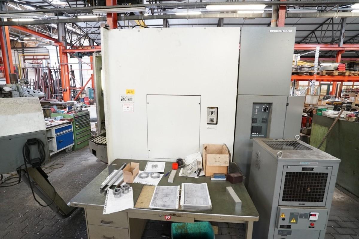 Обрабатывающий центр - вертикальный DMG DMU 80T фото на Industry-Pilot