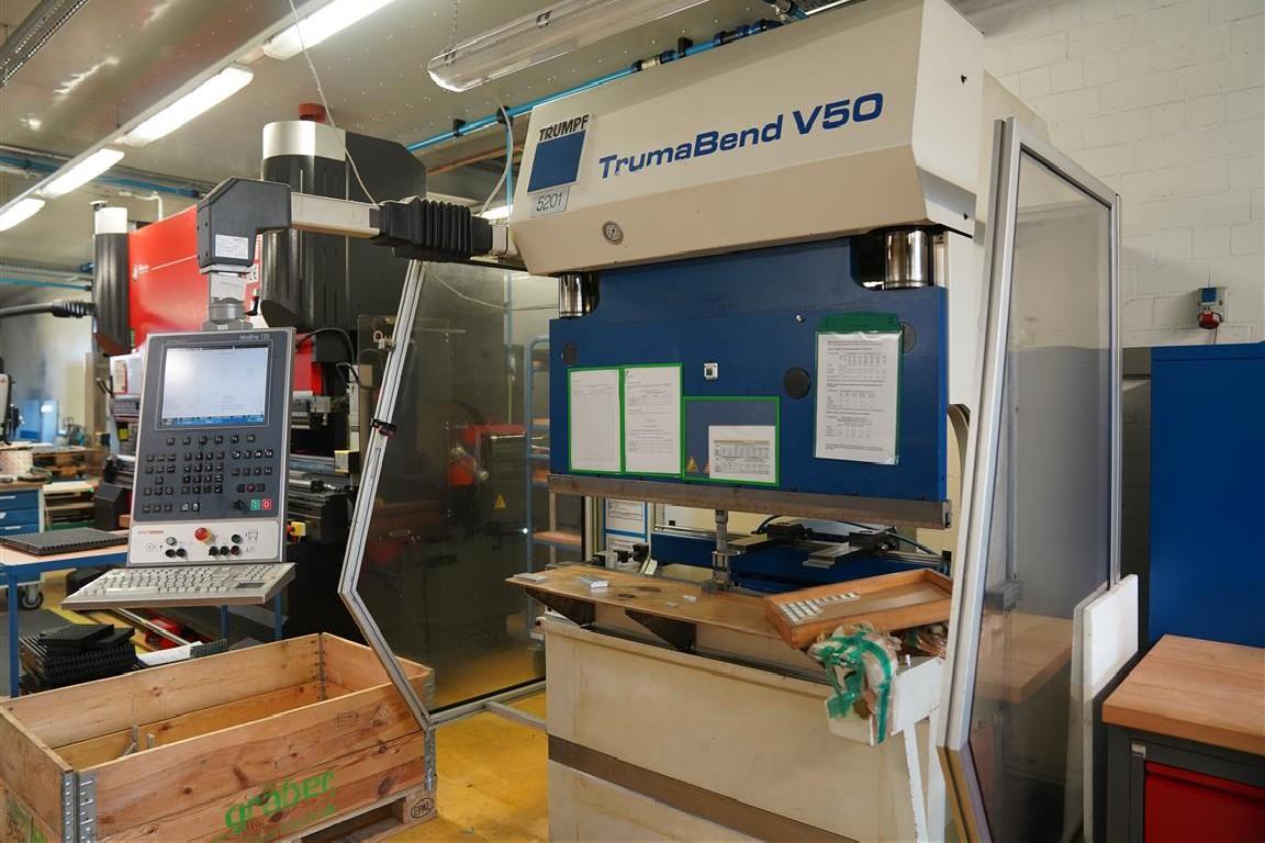 Листогибочный пресс - гидравлический TRUMPF  TrumaBend V 50 фото на Industry-Pilot