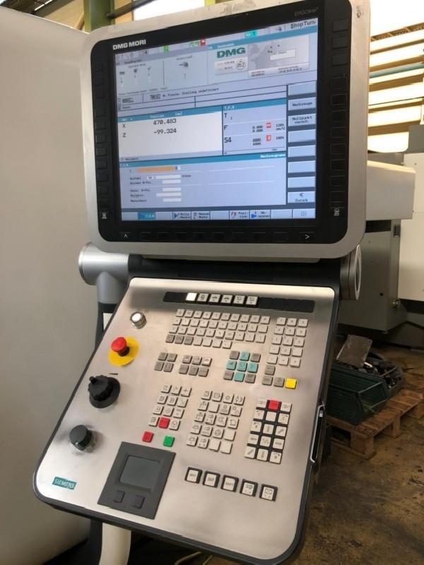 Токарно фрезерный станок с ЧПУ DMG CTX Beta 800 фото на Industry-Pilot