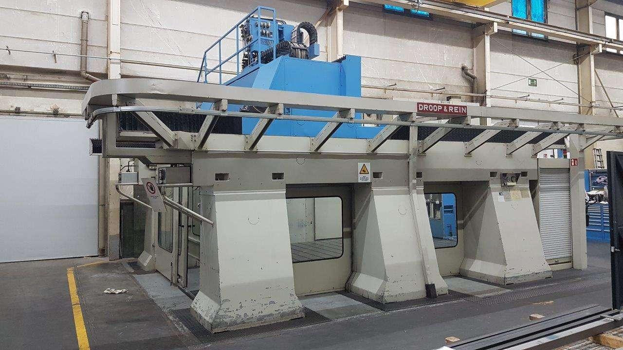 Портальный фрезерный станок Droop & Rein HSC-Portal-Bearbeitungszentrum mit obenliegendem Gantry FOG2500HS11-13NW, CNC ATEK фото на Industry-Pilot