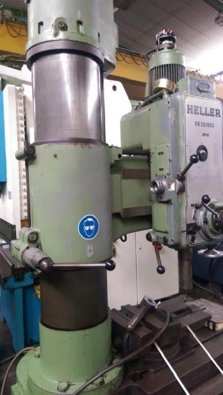 Радиально-сверлильный станок HELLER RB 32/800 фото на Industry-Pilot