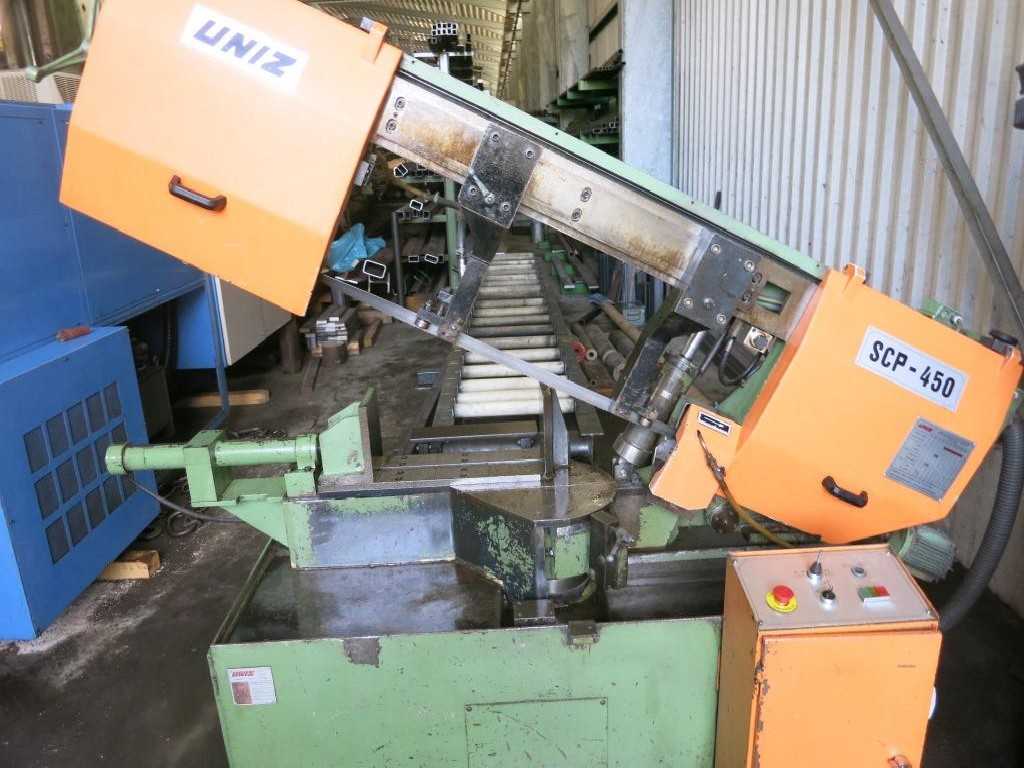 Ленточнопильный станок по металлу - Автом. UNIZ SCP450 фото на Industry-Pilot
