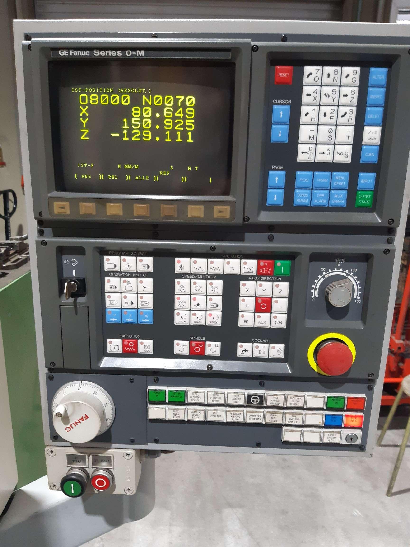Обрабатывающий центр - вертикальный CHIRON FZ 12 W Magnum High Speed 1996 фото на Industry-Pilot