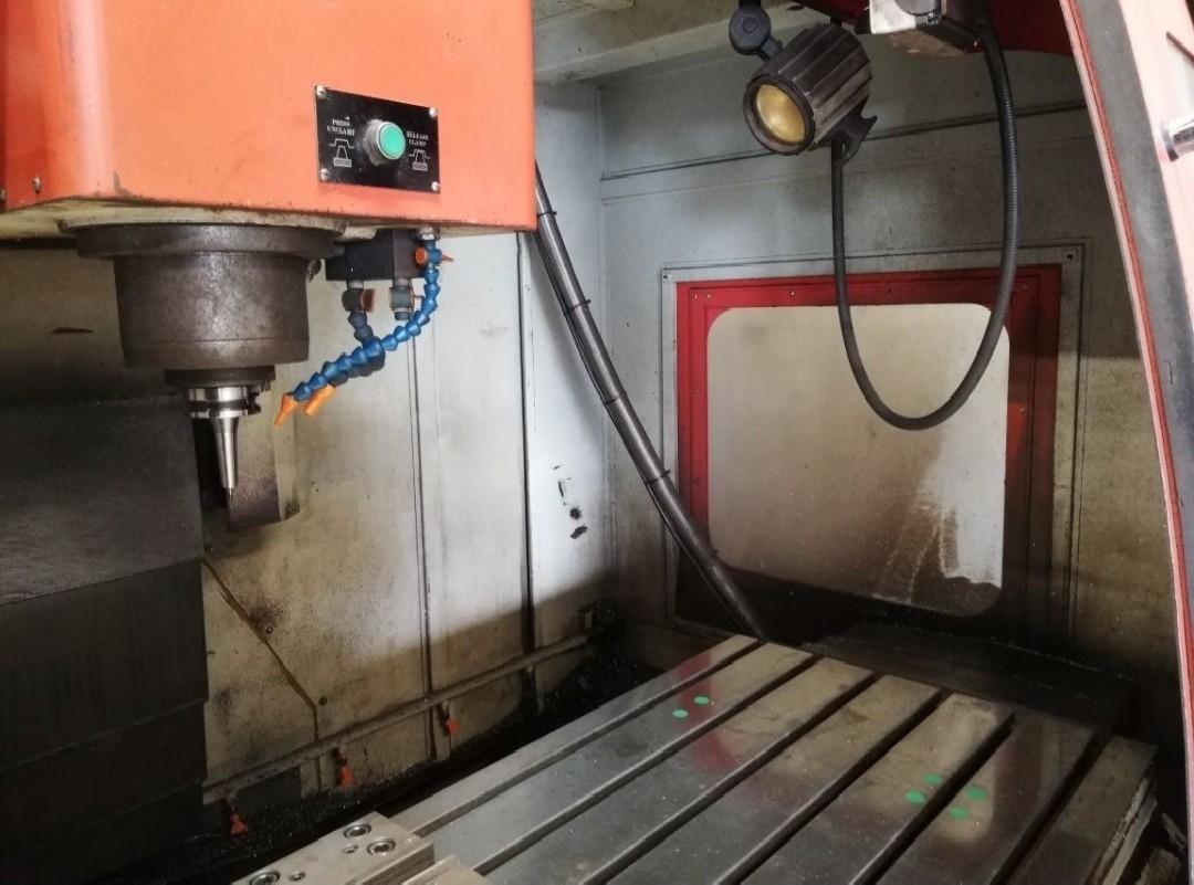 Machining Center - Vertical EUMACH HSM 1000 L photo on Industry-Pilot