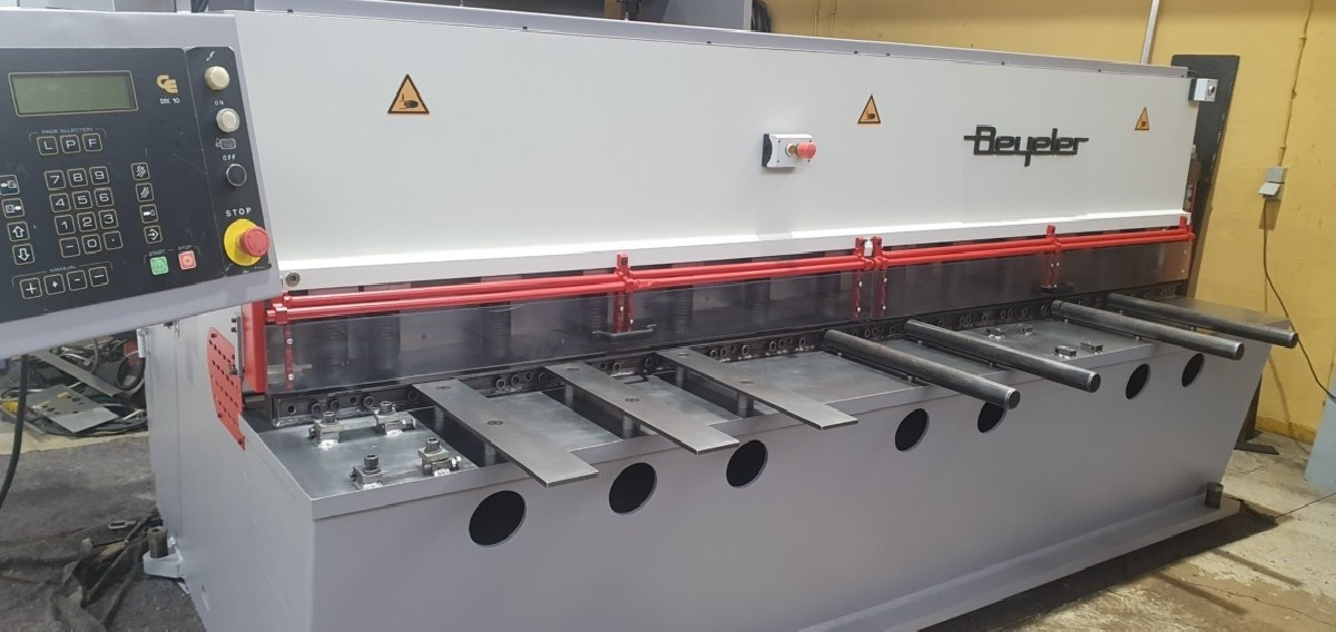 Гидравлические гильотинные ножницы BEYELER CP 630 фото на Industry-Pilot