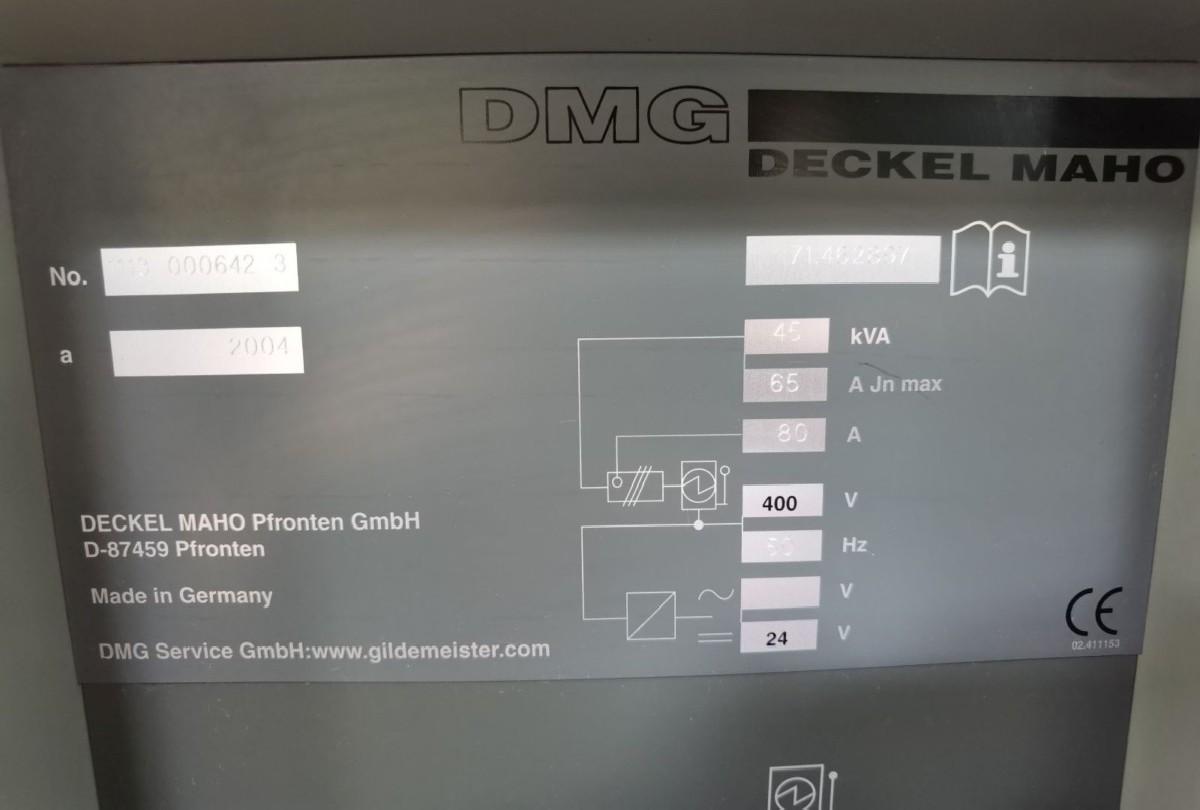 Machining Center - Universal DECKEL-MAHO DMU 80T photo on Industry-Pilot