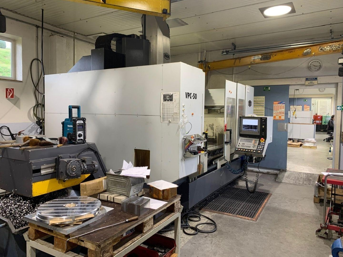 Machining Center - Vertical AXA VPC 50 photo on Industry-Pilot