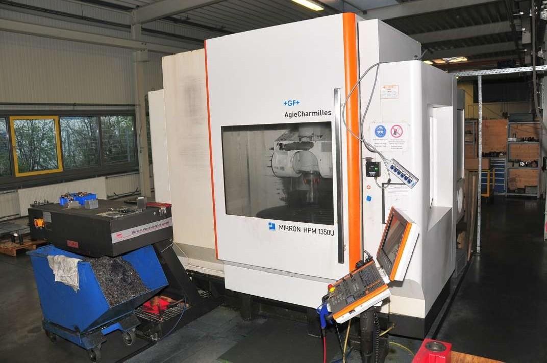 Обрабатывающий центр - универсальный MIKRON HPM 1350U фото на Industry-Pilot