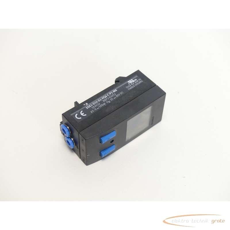 Pressure sensor Festo  SDE1-D10-G2-HQ4-C-P1-M8192032 photo on Industry-Pilot