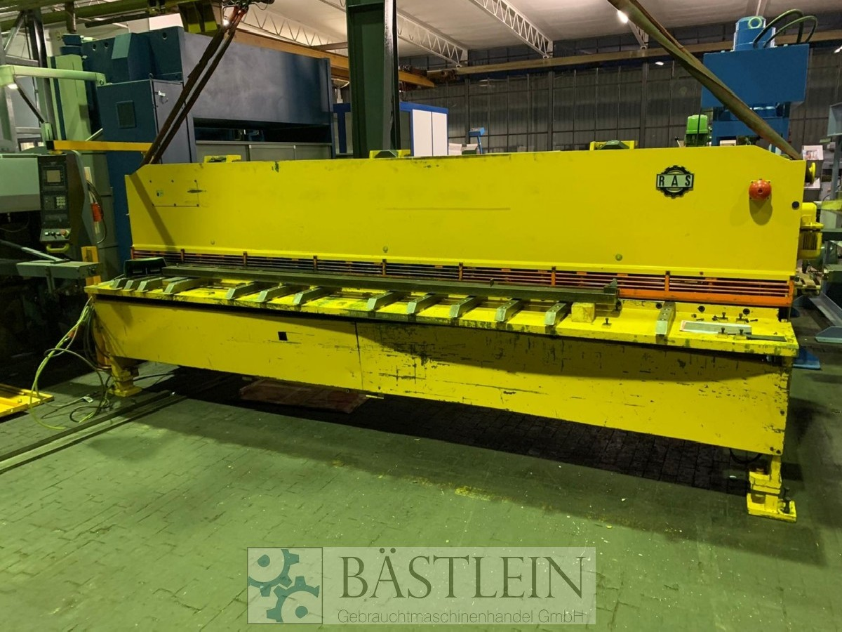 Hydraulic guillotine shear  RAS 85.44 photo on Industry-Pilot
