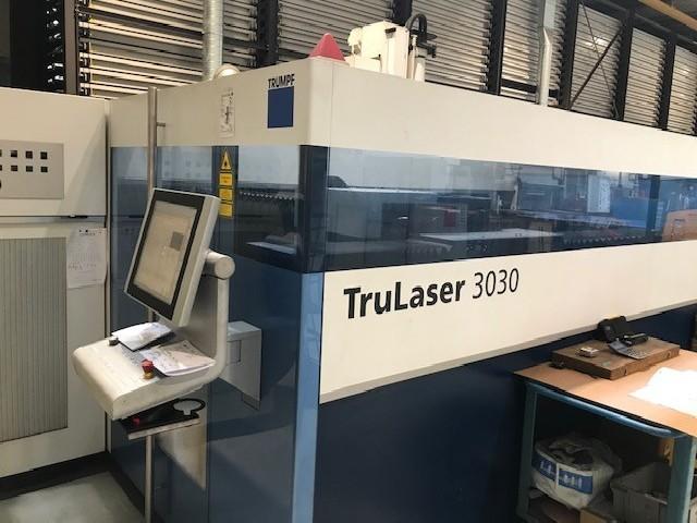 Laser Cutting Machine TRUMPF TRU-Laser 3030 photo on Industry-Pilot