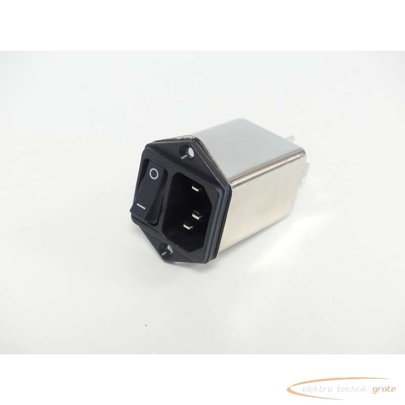 Сетевой фильтр Schaffner FN9264-10-06 Gerätestecker mit250V - без эксплуатации! - фото на Industry-Pilot