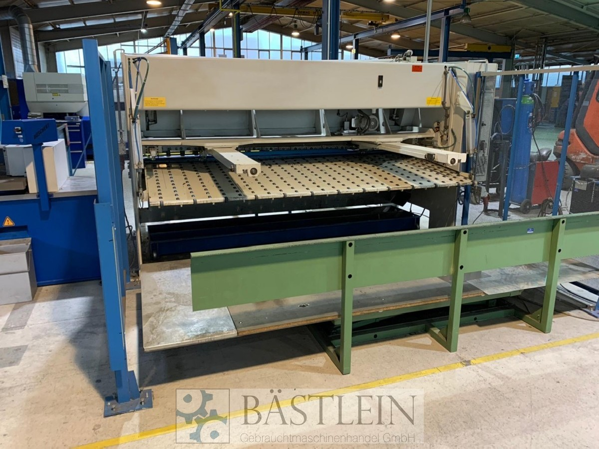 Hydraulic guillotine shear  EHT TSS 6-30 photo on Industry-Pilot