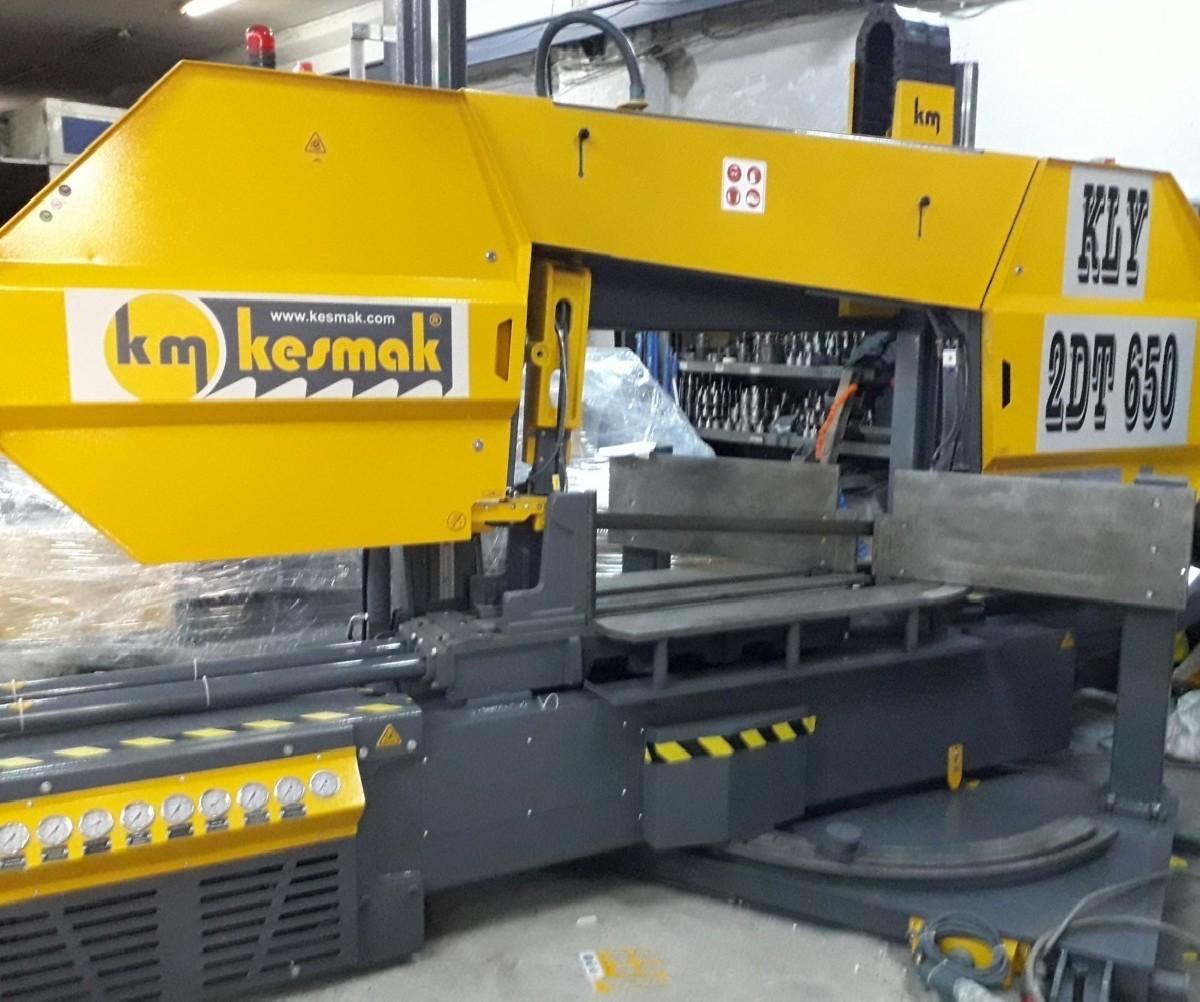 Ленточнопильный станок по металлу - гориз. полуавтоматический KM Kesmak KLY 2DT 650 фото на Industry-Pilot